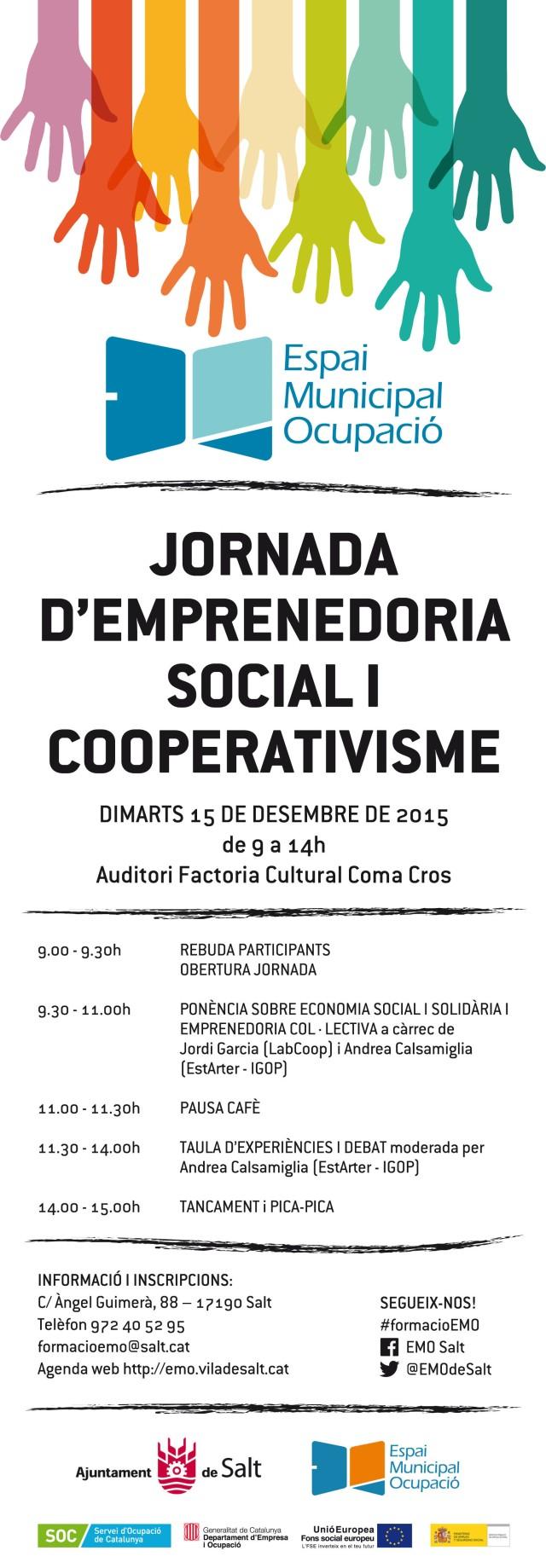 EMO Programa Jornada d'Emprenedoria Social i Cooperativisme